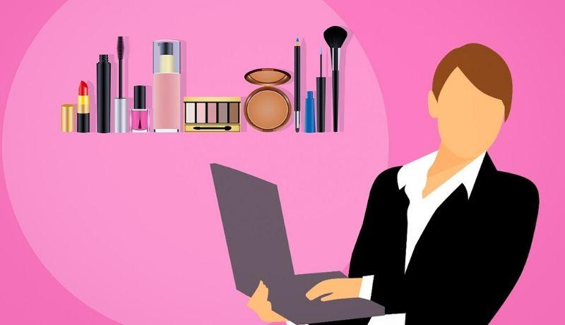 loja de cosméticos online